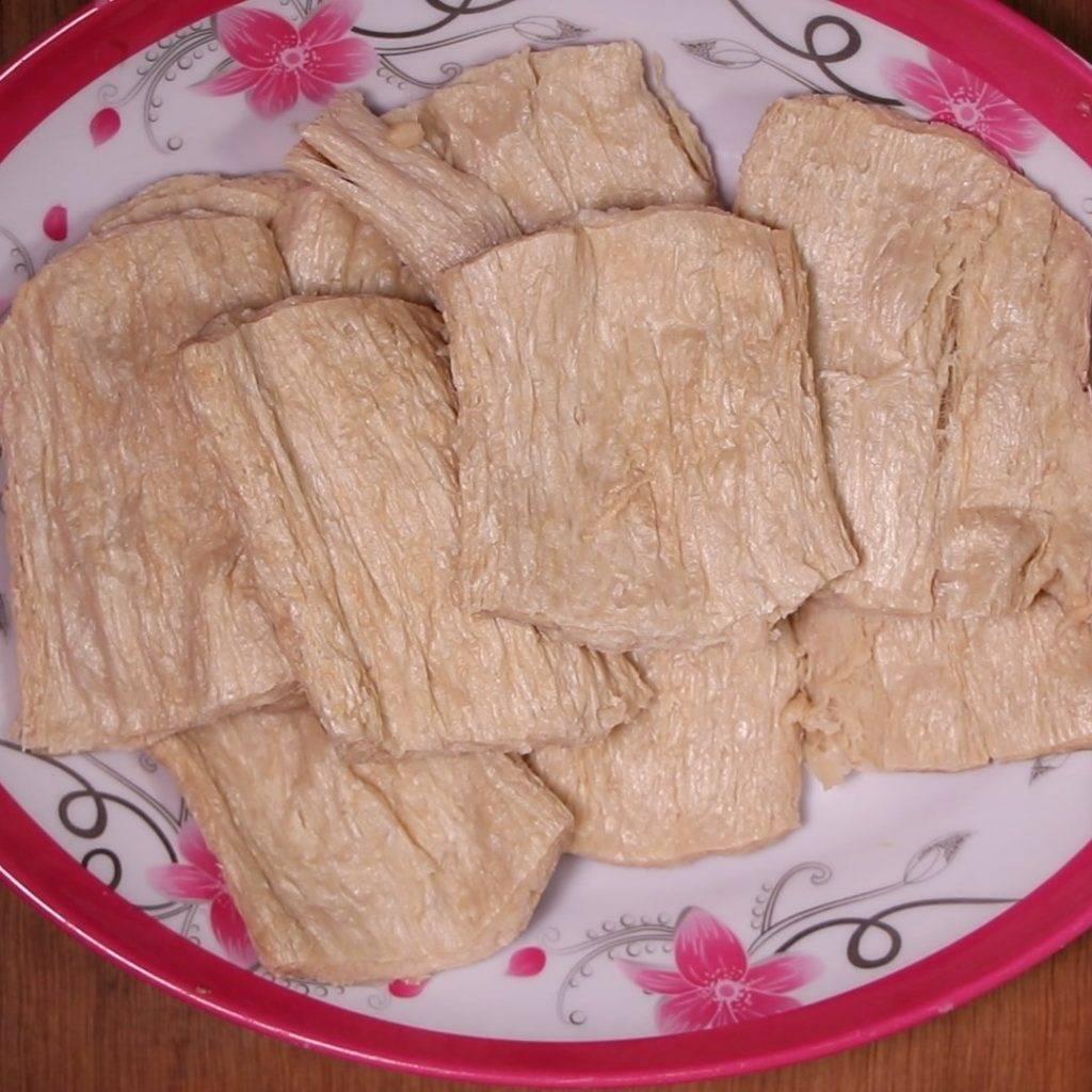 Sườn non chay rim nước dừa