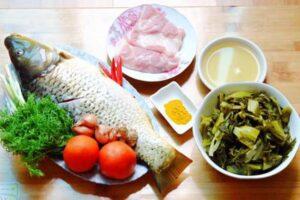 Cách làm cá chép om dưa ngon
