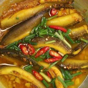 Cá Chạch Kho Nghệ