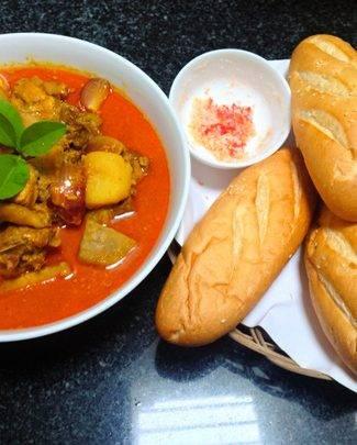 Cách nấu cà ri gà nước cốt dừa thơm ngon