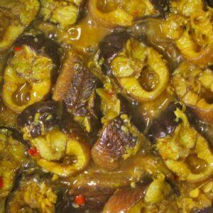 Lươn xào sả ớt