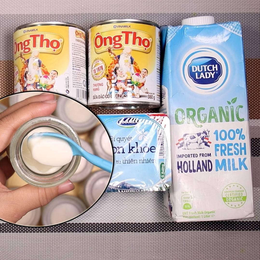 Cách làm sữa chua dẻo mịn