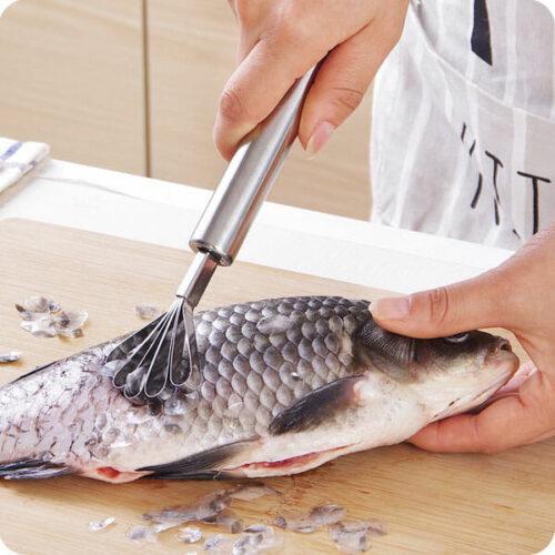Dụng cụ đánh vảy cá kiêm nạo dừa
