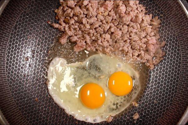cách làm cơm rang trứng thịt | Món Miền Trung