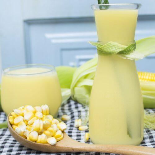 sữa bắp hạt sen