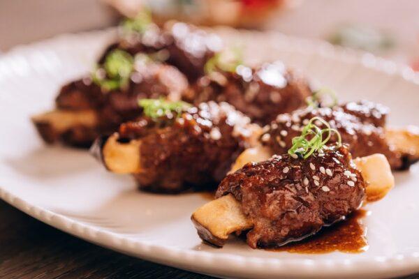 thịt bò bọc nấm