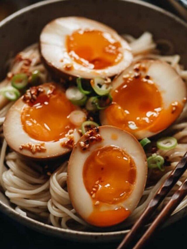 Mách bạn cách làm trứng ngâm tương Hàn Quốc dẻo ngon