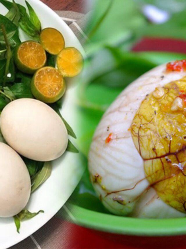 Mẹo luộc trứng vịt lộn ngon không phải ai cũng biết